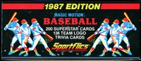 1987 Sportflics Baseball Cards Set