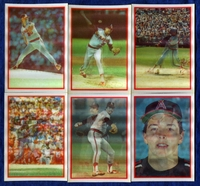 1987 Sportflics California Angels Baseball Card Team Set