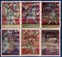 1987 Sportflics Cleveland Indians Baseball Card Team Set