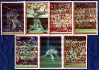 1987 Sportflics Detroit Tigers Baseball Card Team Set