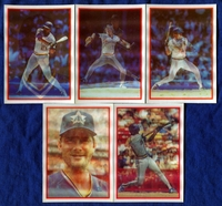1987 Sportflics Seattle Mariners Baseball Card Team Set