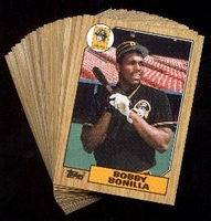 1987 Topps Pittsburgh Pirates Baseball Card Team Set