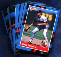 1988 Donruss Anaheim California Angels Baseball Cards Team Set