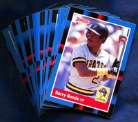 1988 Donruss Pittsburgh Pirates Baseball Cards Team Set