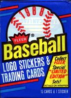 1988 Fleer Baseball Cards Wax Pack