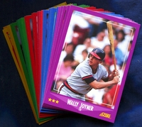 1988 Score California Angels Baseball Cards Team Set