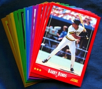 1988 Score Pittsburgh Pirates Baseball Cards Team Set