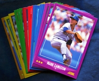 1988 Score Seattle Mariners Baseball Cards Team Set