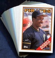 1988 Topps Pittsburgh Pirates Baseball Card Team Set