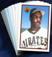 1989 Bowman Pittsburgh Pirates Baseball Cards Team Set