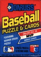 1989 Donruss Baseball Cards Pack