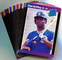 1989 Donruss Seattle Mariners Baseball Cards Team Set