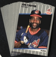 1989 Fleer Cleveland Indians Baseball Cards Team Set