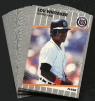 1989 Fleer Detroit Tigers Baseball Cards Team Set