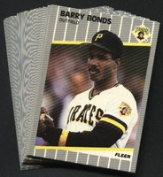1989 Fleer Pittsburgh Pirates Baseball Cards Team Set