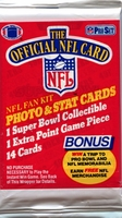 1989 Pro Set Series 1 NFL Football Cards Pack