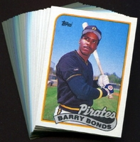 1989 Topps Pittsburgh Pirates Baseball Card Team Set