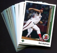 1989 Upper Deck Anaheim (California) Angels Baseball Cards Team Set