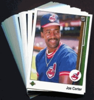 1989 Upper Deck Cleveland Indians Baseball Cards Team Set