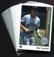 1989 Upper Deck Detroit Tigers Baseball Cards Team Set