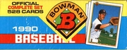 1990 Bowman Baseball Cards Factory Set
