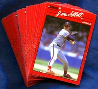1990 Donruss Anaheim California Angels Baseball Cards Team Set