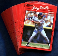 1990 Donruss Cleveland Indians Baseball Cards Team Set