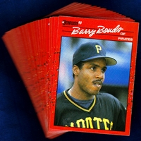 1990 Donruss Pittsburgh Pirates Baseball Cards Team Set