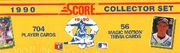 1990 Score Baseball Cards Factory Set