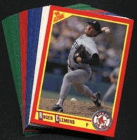 1990 Score Boston Red Sox Baseball Cards Team Set