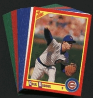1990 Score Chicago Cubs Baseball Cards Team Set