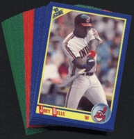 1990 Score Cleveland Indians Baseball Cards Team Set