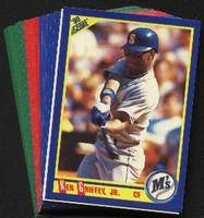 1990 Score Seattle Mariners Baseball Cards Team Set