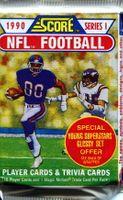 1990 Score Series 1 NFL Football Cards Pack