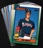 1990 Topps Anaheim (California) Angels Baseball Cards Team Set