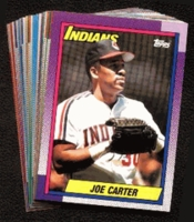 1990 Topps Cleveland Indians Baseball Card Team Set