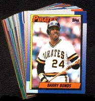 1990 Topps Pittsburgh Pirates Baseball Card Team Set