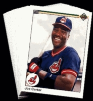 1990 Upper Deck Cleveland Indians Baseball Cards Team Set