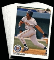 1990 Upper Deck Detroit Tigers Baseball Cards Team Set
