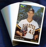 1991 Augusta Pirates Classic Best Minor League Baseball Card Team Set