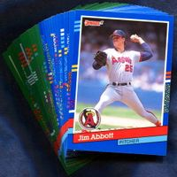 1991 Donruss California Angels Baseball Cards Team Set