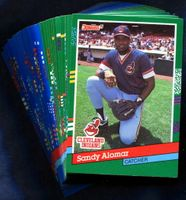 1991 Donruss Cleveland Indians Baseball Cards Team Set