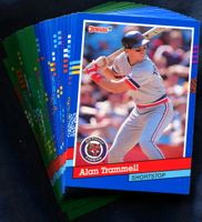 1991 Donruss Detroit Tigers Baseball Cards Team Set