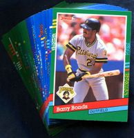 1991 Donruss Pittsburgh Pirates Baseball Cards Team Set