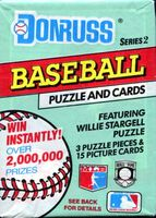 1991 Donruss Series 2 Baseball Cards Pack