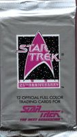 1991 Impel Star Trek 25th Anniversary Next Generation Series 1 Non-Sports Cards Pack