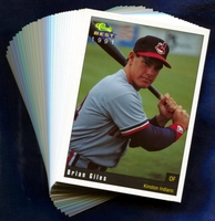 1991 Kinston Indians Classic Best Minor League Baseball Card Team Set