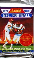 1991 Score Series 1 Football Cards Pack