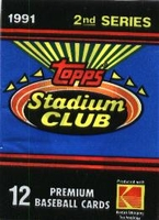 1991 Topps Stadium Club Series 2 Baseball Cards Pack