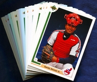 1991 Upper Deck Cleveland Indians Baseball Cards Team Set